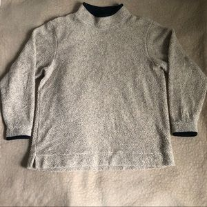 Llbean mock neck sweater